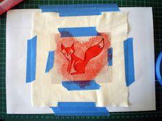 Red Crafty Fox: Graffiti-esque t-shirt stencils T Shirt Stencils, Crafty Fox, Graffiti, Flag, Diy Crafts, Logos, Red, How To Make, Clothes