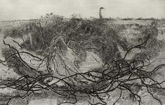 Heath with Juniper British Artists, Etchings, Victorian Homes, Printmaking, Landscapes, Sketches, Gallery, Drawings, Prints