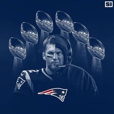 This is a cool photo of the two G.Ts on the Patriots, Tom Brady and Bill Belichick. The background shows the 6 Lombardi Trophies they have won together on the Patriots. New England Patriots Players, New England Patriots Merchandise, Patriots Team, Patriots Cheerleaders, England Football, Nfl Sports, Nfl Football, American Football, Football Season