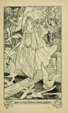 The Story of the Seven Simons - The Crimson Fairy Book by Andrew Lang, 1903