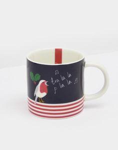 66b34bf474 Joules Festive Cuppa Homeware Seasonal Mug Joules