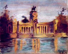 An old oil sketch #arte #art #artwork #pintura #painting #dibujo #drawing #diseño #design #diseñografico #graphicdesign #sketch #sketchbook #doodle #image #color #oil #oleo #oilpainting #madrid #spain #españa #practice