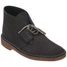 60fad17f0ae6 Buy Dark Grey Clarks Men s Desert Boot 34317 Casual Boot shoes