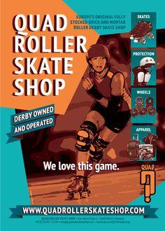 Quad Roller Skate Shop - Berlin/ Germany