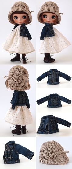 ** Blythe outfit ** Lucalily 335**の画像:mahounote.
