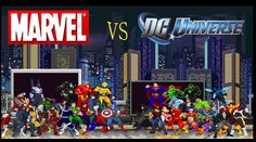 There has been a massive battle going on between fans of two comic publishers for years. Much like the PC vs Console debate, the Marvel Vs. DC debate has r