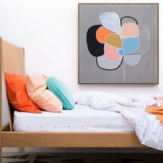 25 BOLD Ways To Do Color In Your Apartment #refinery29  http://www.refinery29.com/colorful-decor#slide-19  A color sandwich we haven't seen much of. And, it looks delicious.