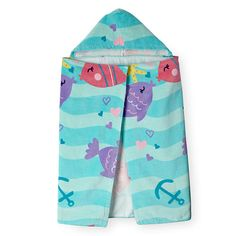 Baby Kiss 3 Pack Hooded Towels Jungle Friends Hooded
