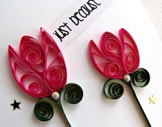 handmade paper quilled all occasion or friendship greeting