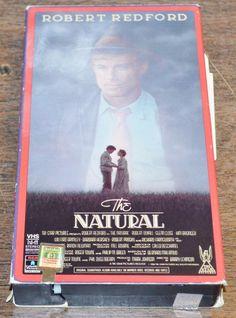 The Natural (VHS, 1997) Robert Redford Robert Duvall Glenn Close Kim Basinger