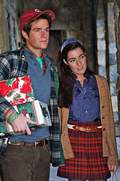 Patrick & Vickers... a very preppy christmas