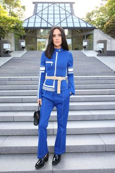 Jennifer Connelly wearing Louis Vuitton Fall Winter 2017 Collection at the Cruise 2018 Fashion Show