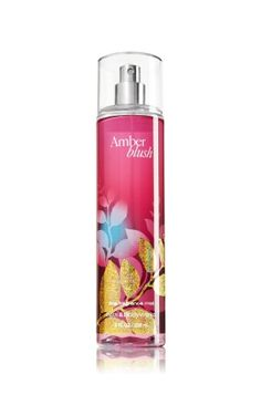 Amber Blush - Fine Fragrance Mist - Signature Collection - Bath & Body Works - Lavishly splash or lightly spritz your favorite fragrance, either way you'll fall in love at first mist! Our carefully crafted bottle and sophisticated pump delivers great coverage while conditioning aloe mist nourishes skin for the lightest, most refreshing way to fragrance!