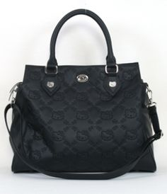 b94c71ddfd4f Loungefly New HELLO KITTY Purse SATCHEL BLACK SANRIO Embossed patent Hello  Kitty Purse