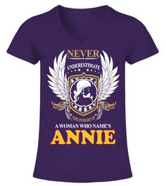 """# A Woman Who Name's ANNIE .  Special Offer, not available in shopsComes in a variety of styles and coloursBuy yours now before it is too late!Secured payment via Visa / Mastercard / Amex / PayPal / iDealHow to place an order            Choose the model from the drop-down menu      Click on """"Buy it now""""      Choose the size and the quantity      Add your delivery address and bank details      And that's it!"""