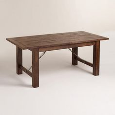 One of my favorite discoveries at WorldMarket.com: Garner Extension Dining Table