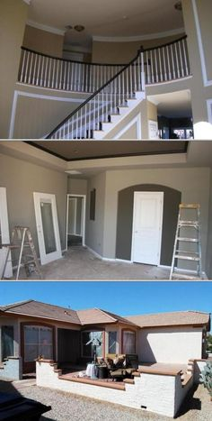 Manuel Arizmendi is among the residential painting contractors who accept interior and exterior jobs. He works only with interiors of empty homes. He uses high-quality primers and 100% acrylic coatings.