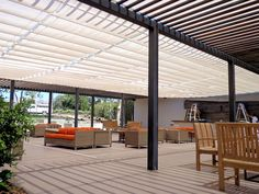 Slide Wire Patio Covers   Superior Awning Wildwood Crest, Outdoor Shade, Shade Structure, Backyard, Patio, Pergola, Outdoor Structures, Cover, Wire