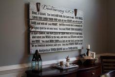LOVE  this Shema Barn Door from onegirldesignshoppe.com