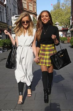 Perrie Edwards and Jade Thirlwall | Pinterest: Doris