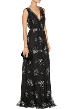 Shop on-sale Nina Ricci Embroidered tulle gown. Browse other discount designer Dresses & more on The Most Fashionable Fashion Outlet, THE OUTNET.COM