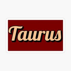 'Taurus vintage font astrology stickers by gabyiscool' Sticker by gabyiscool Plastic Stickers, Cute Stickers, Small Alphabet Letters, Taurus Art, Small Alphabets, Vintage Fonts, Graphic Quotes, Birth Chart, Personalized Water Bottles