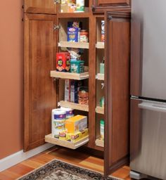 Slide Out Cabinet Shelves | For the Home | Pinterest | Shelving ...