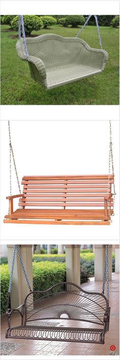 Shop Target for porch swing you will love at great low prices. Free shipping on orders of $35+ or free same-day pick-up in store.