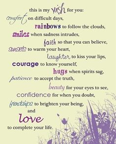 Others - My wish for you  #Hug, #Love, #Smile, #Wish