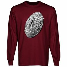 Florida State Seminoles (FSU) 2013 BCS National Champions Trophy Mascot Long Sleeve T-Shirt - Garnet