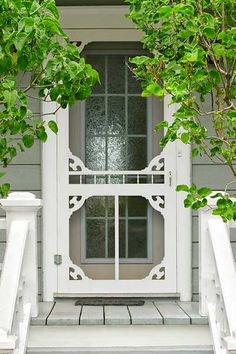 How to trim out a standard home center screen door with stock pieces from a woodworking-supply shop to add vintage charm. For more thrifty ways to add character to every room without emptying your wallet, see our Pinterest DIY Inspiration board. | Photo: Michael Westhoff/Getty Images | thisoldhouse.comPhoto: Michael Westhoff/Getty Images | thisoldhouse.com