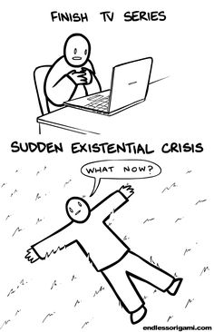 When you Finish a TV Series [Comic]