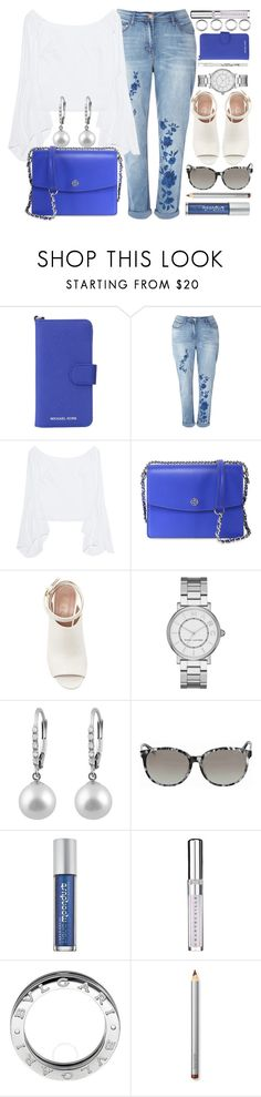"""Spring Look"" by jomashop ❤ liked on Polyvore featuring MICHAEL Michael Kors, Petersyn, Tory Burch, Marni, Marc Jacobs, Gucci, Urban Decay, Chantecaille, Bulgari and Laura Mercier"