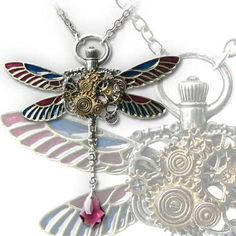 Quality craftsmanship in pewter  Beautiful steam punk accessory piece