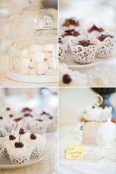 wedding dessert ideas, petite and delicious.