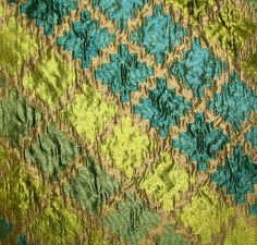 Collier Campbell Flourish Jade Collier Campbell Fabric