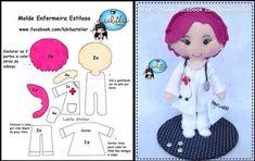 VK is the largest European social network with more than 100 million active users. Felt Doll Patterns, Felt Crafts Patterns, Stuffed Toys Patterns, Moldes Para Baby Shower, Felt Fairy, Felt Christmas Ornaments, Sewing Dolls, Felt Toys, Soft Dolls