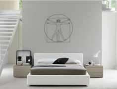 Hey, I found this really awesome Etsy listing at http://www.etsy.com/listing/115316608/wall-art-inspired-by-da-vinci-vitruvian