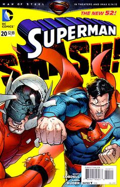 SUPERMAN NEW 52 #20 http://www.thebestlittlecomicshop.co.uk/products/superman-new-52-20