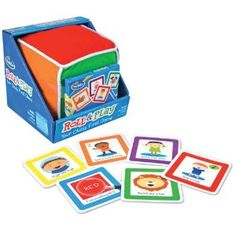 Your Child's First Game! Roll & Play is the first game ever designed specifically for toddlers! To play, simply toss the big plush cube and identify which colored side faces up. Choose a matching color card and perform the simple activity shown. Board Games For Kids, Games For Toddlers, Games To Play, Fun Games, Kids Board, Playing Games, Best Toddler Games, Toddler Gifts, Toddler Fun