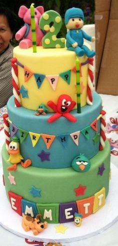 Pocoyo cake! | Yelp