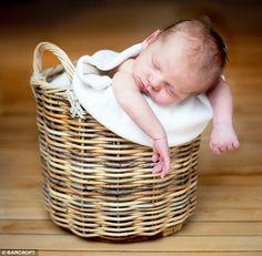 basket baby so cute
