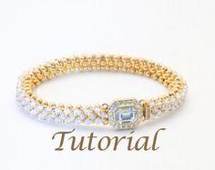 Seed Bead and Crystal Bracelet Pattern Best Friend Digital Download