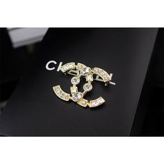 Chanel Brooches, Alloy, 5cm * 3.5cm