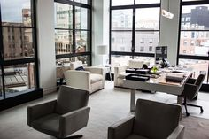 ❏ Theory, Helmut Lang, Theyskens Theory Offices In NYC