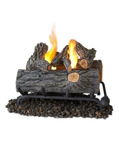 Look what I found on #zulily! Real Flame 18'' Oak Convert-to-Gel Log Set by Real Flame #zulilyfinds