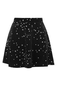 **Glitter Star Velvet Skater Skirt by Nobody's Child