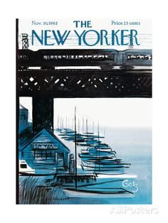 The New Yorker Cover - November 30, 1963