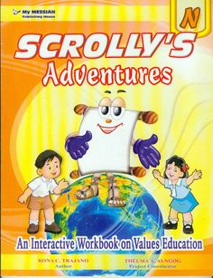 The SCROLLY'S Adventures Series [New Edition!] (Nursery, Kinder, Prep) Values Education, New Edition, Comic Books, Nursery, Author, Adventure, Comics, Cover, Products