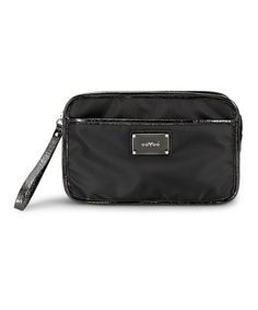 Take a look at this Black Noir Bella Crossbody Diaper Bag by OOYOO on #zulily today!